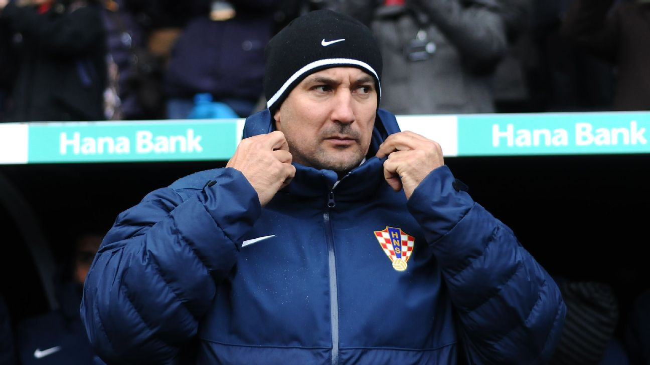 Igor Stimac coached Croatia in 2013.