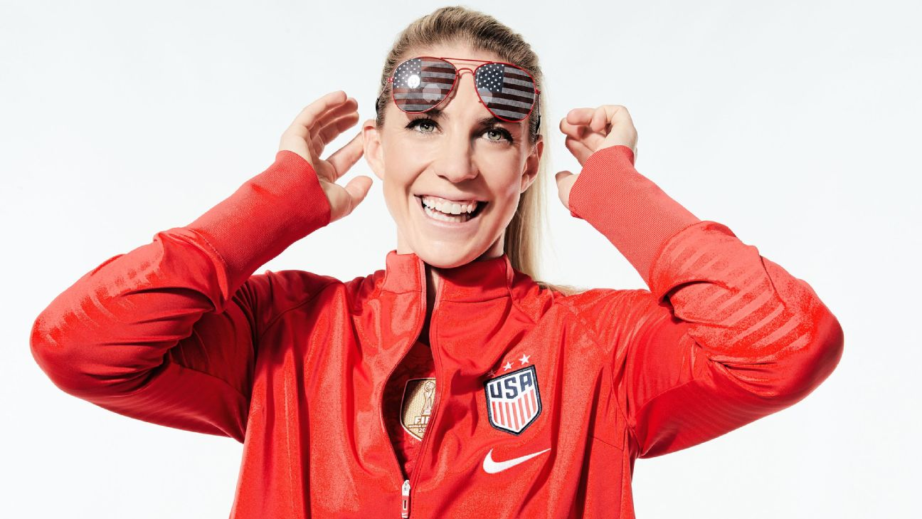 Off the field, U.S. women's national team star Julie Ertz is a ball of sunshine. On the field, she's a tsunami. She'll be a key to the U.S.'s success at the 2019 Women's World Cup.