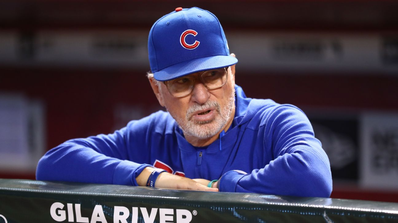 565891789 Maddon critical of plate umpire Laz Diaz after loss