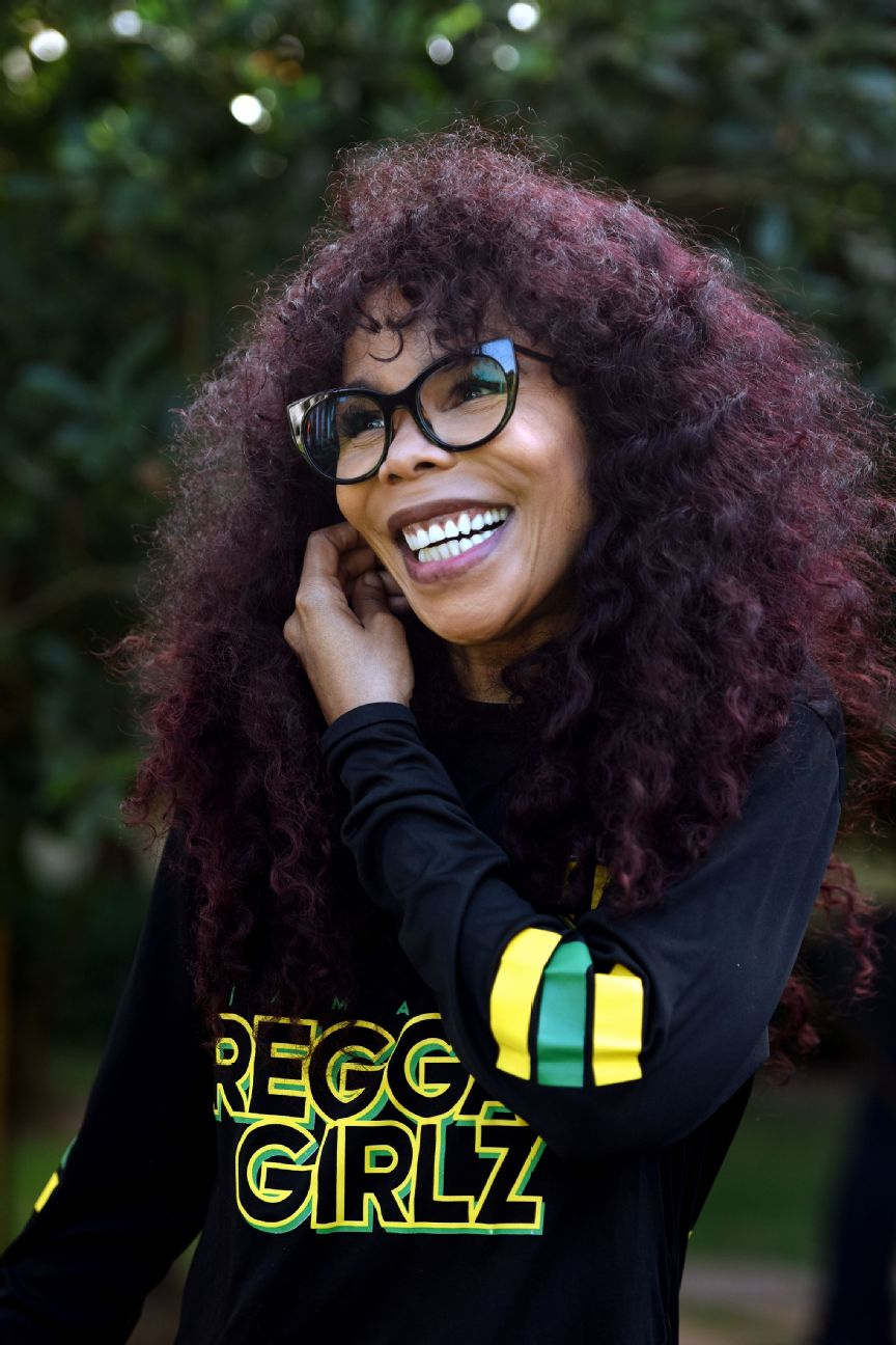 Sine qua non: Cedella's grit helped resurrect the Reggae Girlz.