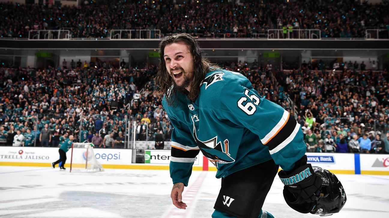 finest selection 749ee 246df Erik Karlsson signs with the Sharks - Biggest takeaways ...