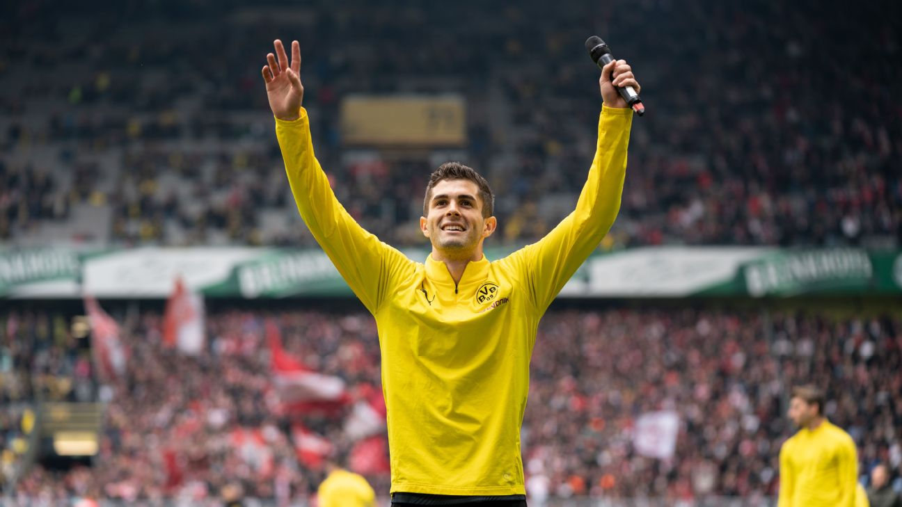 Borussia Dortmund's warm farewell for Christian Pulisic a player always destined to move somewhere else 2