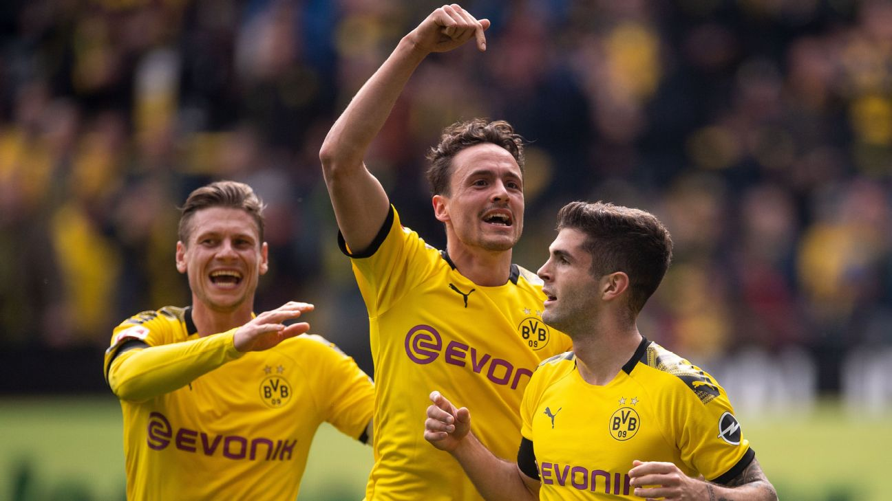 Borussia Dortmund's warm farewell for Christian Pulisic a player always destined to move somewhere else 4