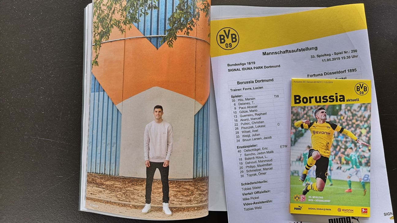 Borussia Dortmund's warm farewell for Christian Pulisic a player always destined to move somewhere else 3
