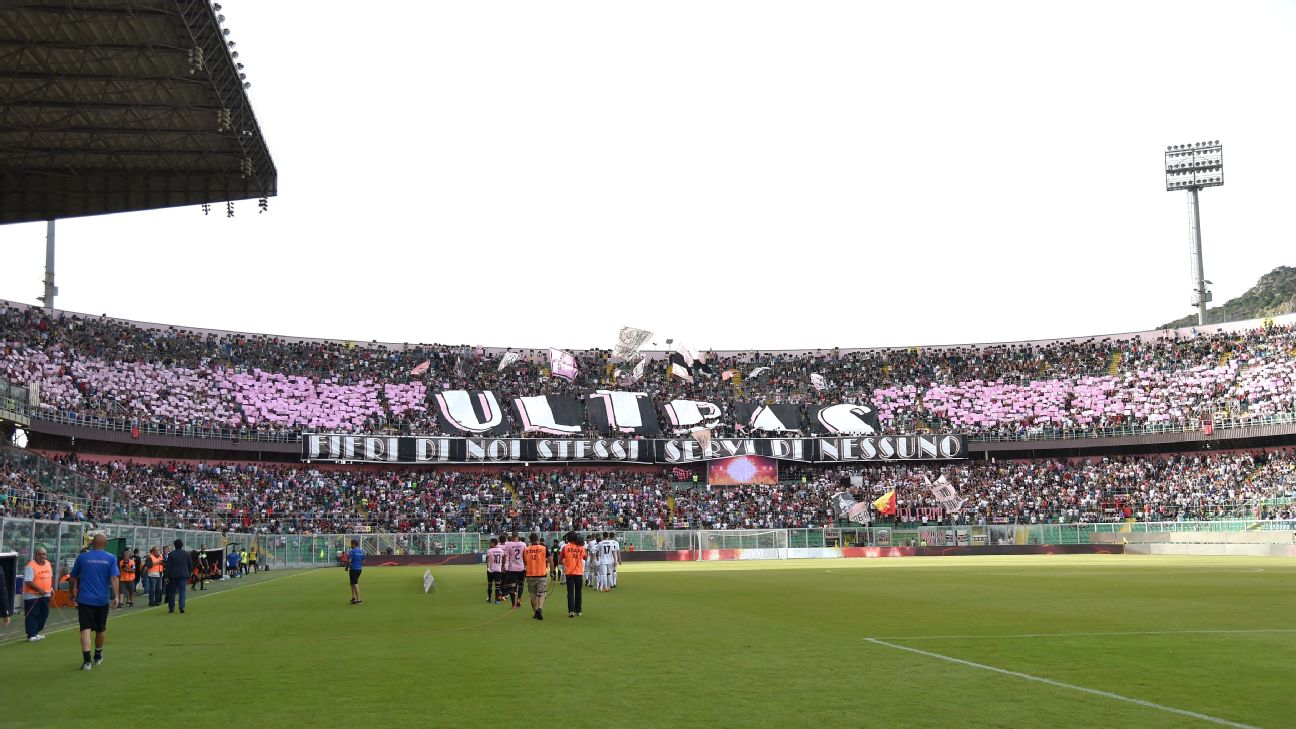 Palermo likely to miss Serie B promotion playoffs after being relegated to Serie C.