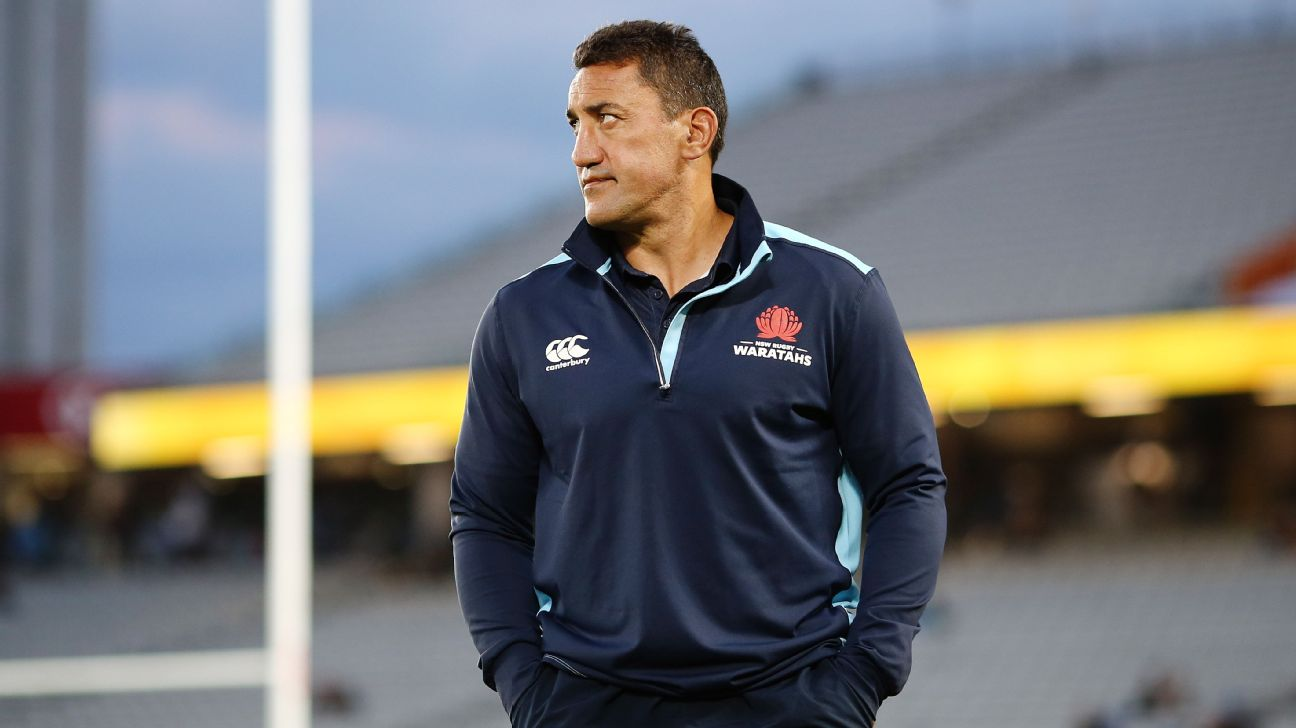 7e2ff7388fd NSW Waratahs coach Daryl Gibson admits it will be a sad day for rugby if  Israel Folau is sacked, with a decision on the superstar's future set to  come this ...