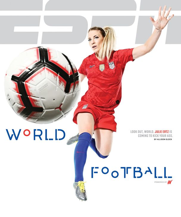 Julie Ertz is the ass-kicker of the U.S. women's national team 2