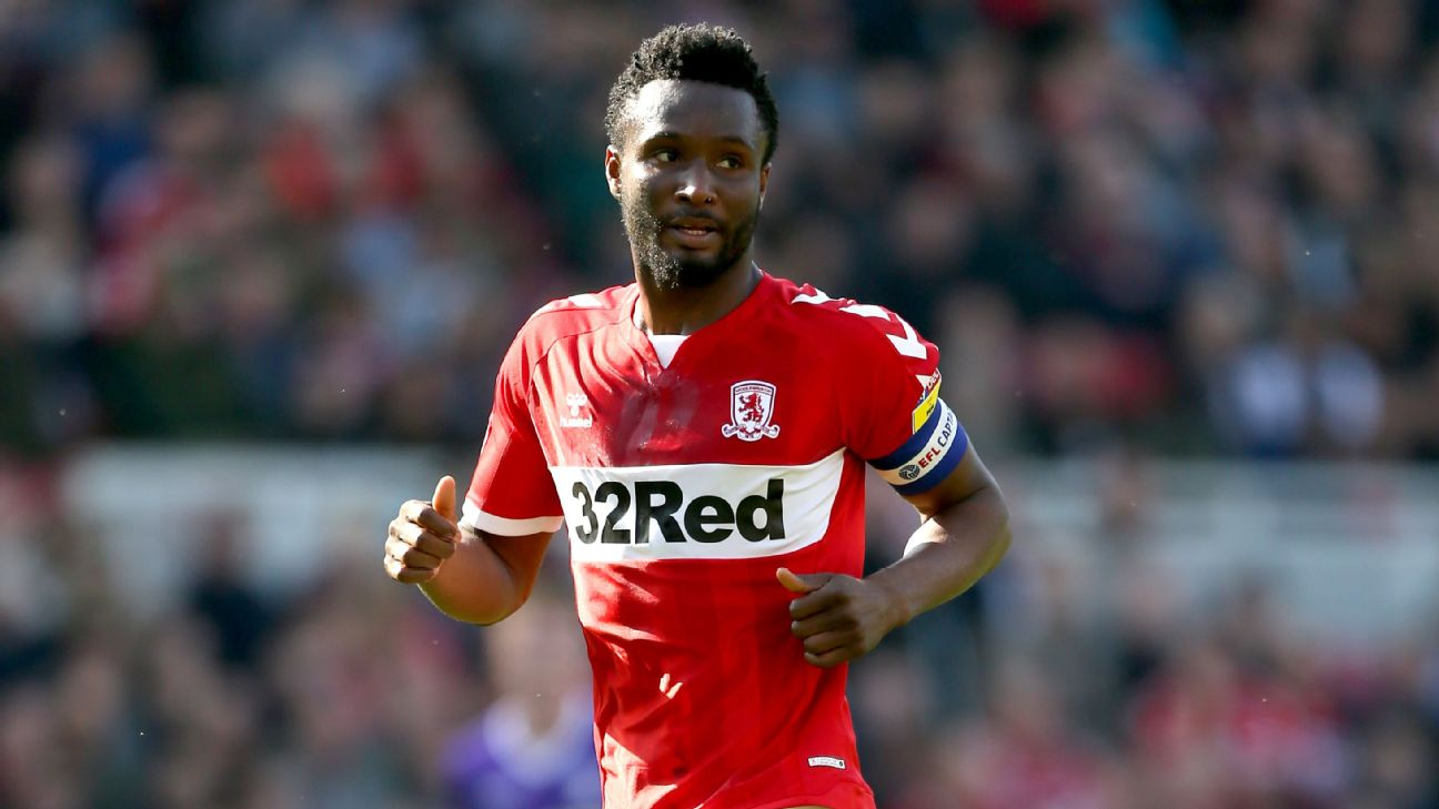 John Obi Mikel, Middlesbrough