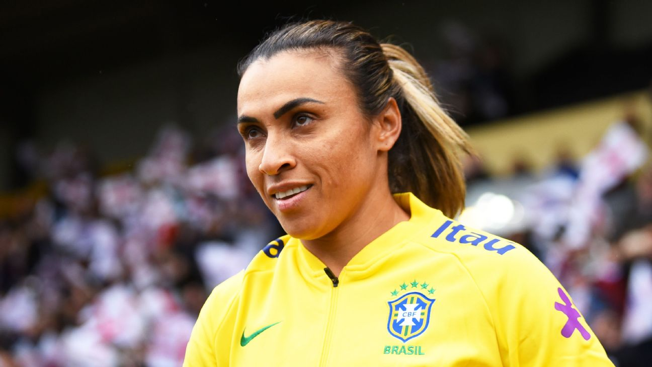Brazil's No. 10 has the team's first World Cup title in her sights in this, her fifth tournament.