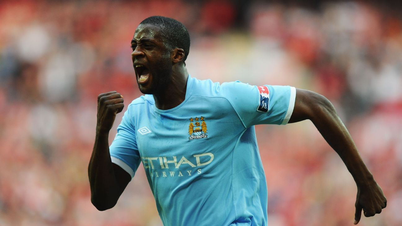 Yaya Toure's arrival at City in 2011 marked the start of the club's current era of success. Coincidence?