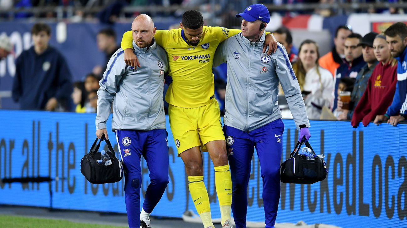 Chelsea's Ruben Loftus-Cheek ruptures Achilles' tendon 8