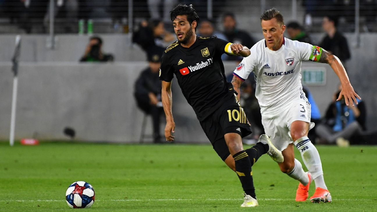 Carlos Vela, LAFC stay red hot, downing FC Dallas 2
