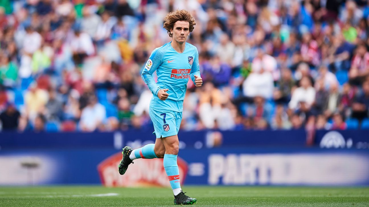 Antoine Griezmann will leave Atletico Madrid this summer.