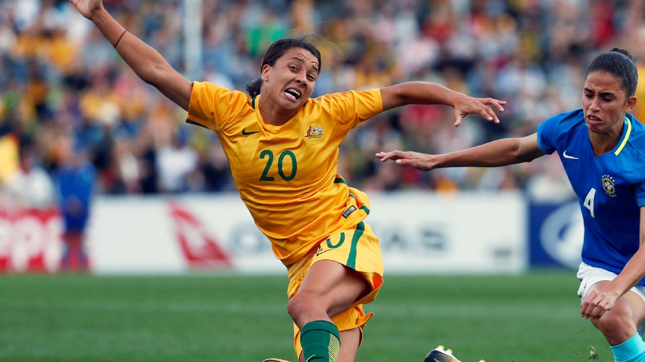 One of the best players in the world, Sam Kerr is hoping her Australian team can play up to its potential at the 2019 Women's World Cup.