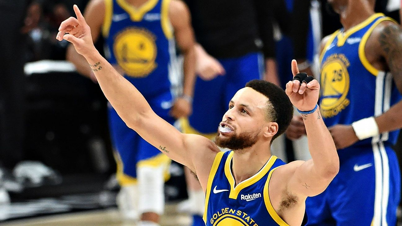 Peak Stephen Curry was unleashed in the Western Conference finals