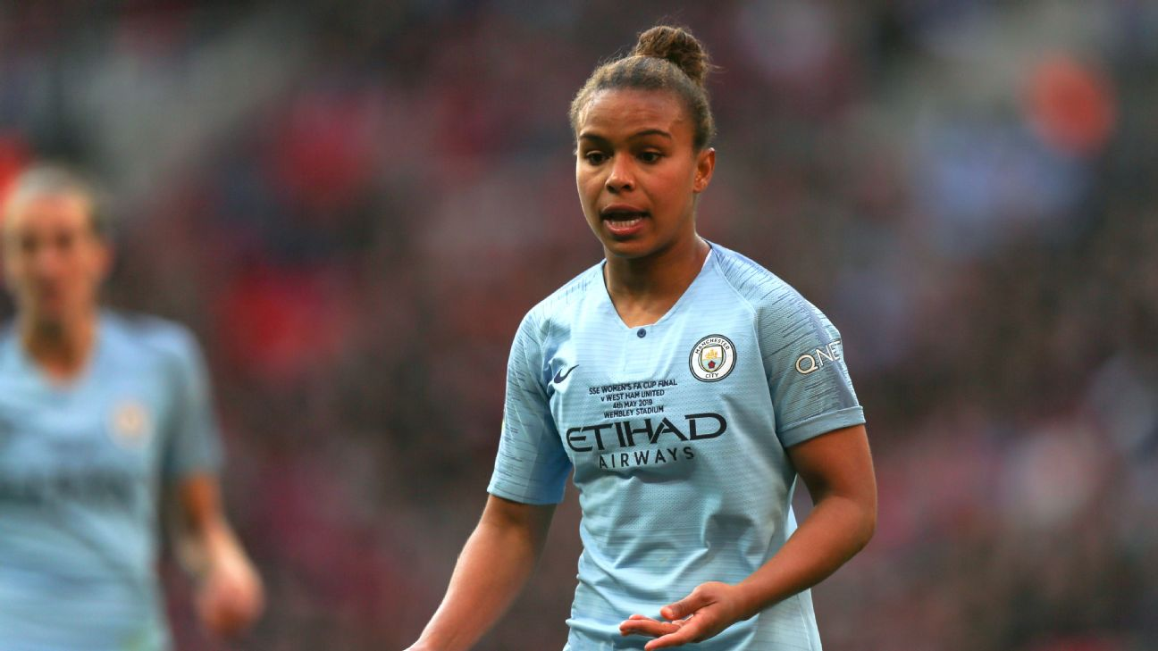Nikita Parris scored 19 goals in 19 appearances as Manchester City finished second in the Women's Super League.