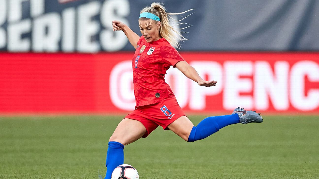 With her fearless approach, Julie Ertz  hopes to lead Team USA to another Women's World Cup championship.
