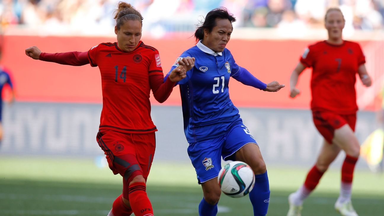 In the 2015 Women's World Cup, Thailand was the only team to win a game in the group stage but fail to make it to the knockout round.