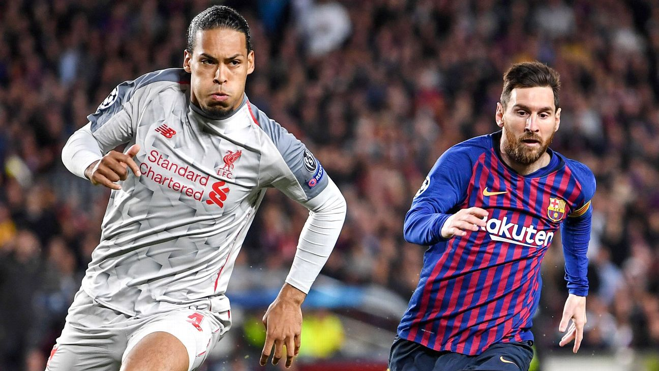 Mr. Indispensable, from Lionel Messi to Virgil Van Dijk: Which player can your team not live without? 2
