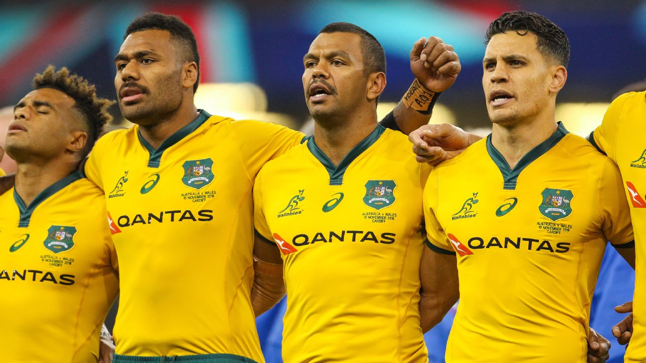 1aa5657a9 Kurtley Beale has dismissed talk of division within the Wallabies playing  ranks