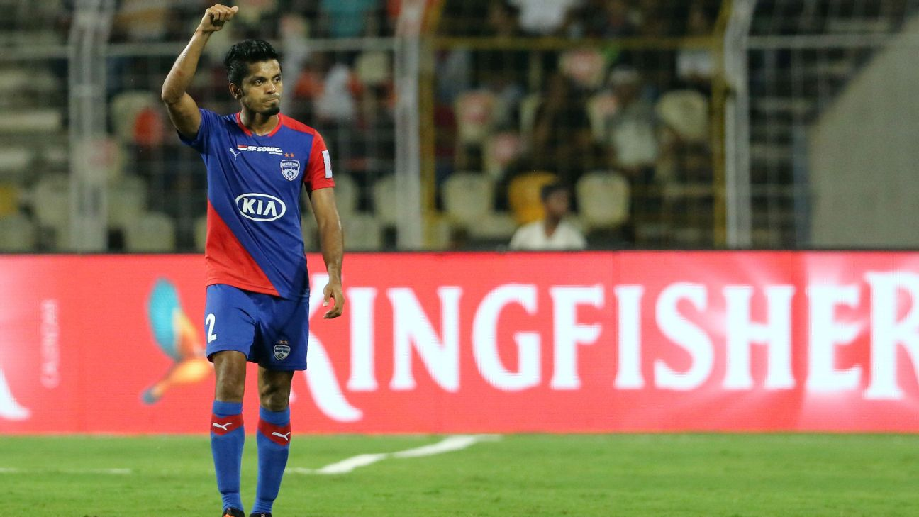 Rahul Bheke was one of the standout performers for Bengaluru FC this past season.
