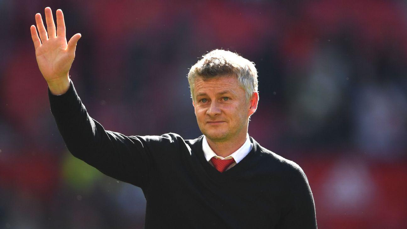 United manager Ole Gunnar Solskjaer
