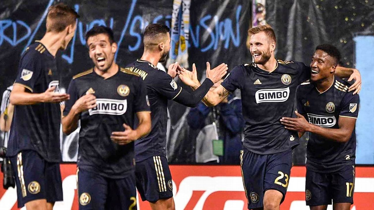 The Philadelphia Union have ridden a blend of youth and style to the top of MLS' Eastern Conference.