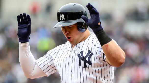 Giancarlo Stanton Stats News Pictures Bio Videos New York