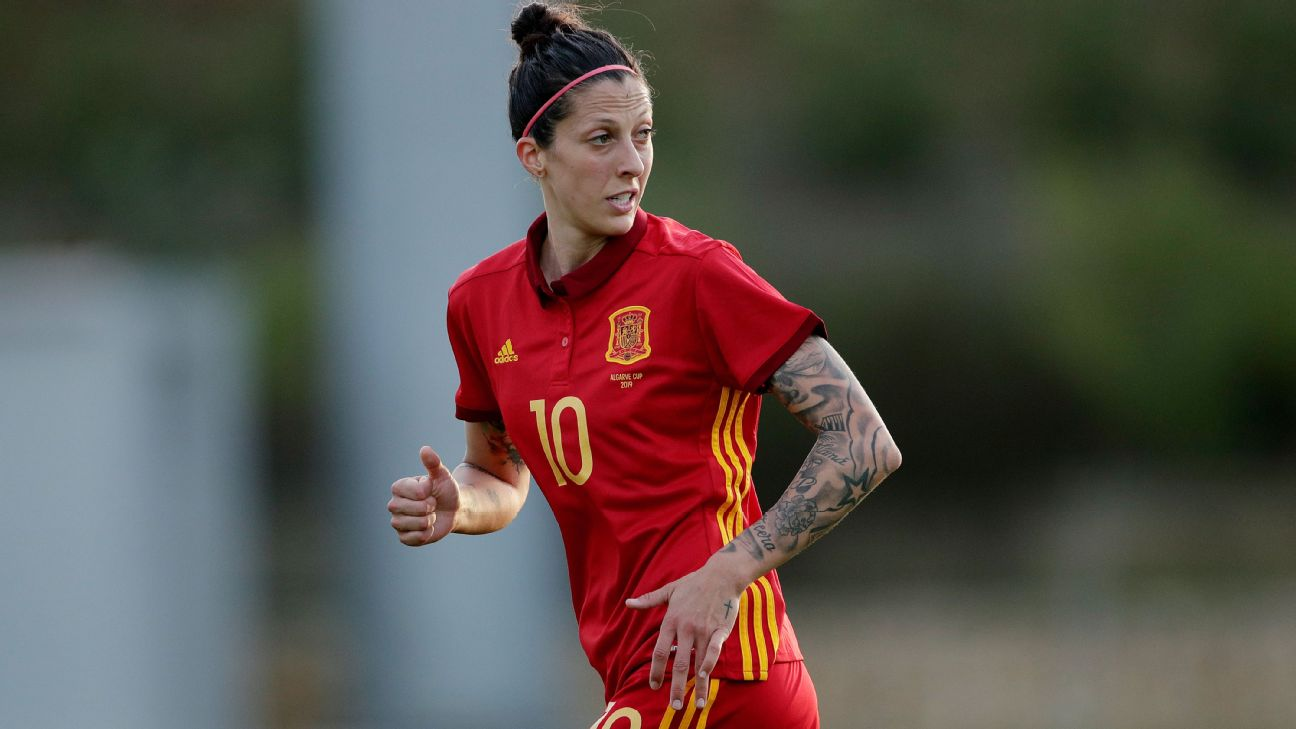 Jennifer Hermoso and her Spanish team have picked up a lot of momentum heading into the World Cup.