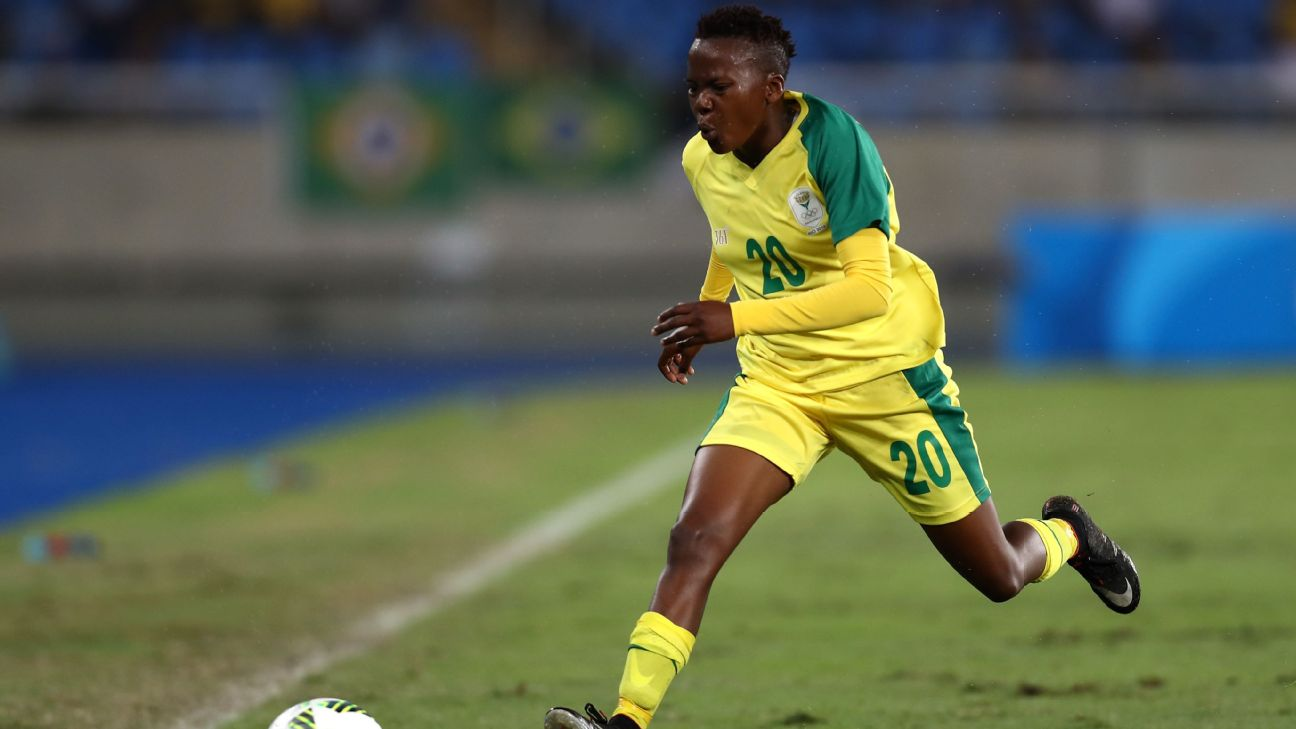 For Thembi Kgatlana and South Africa, the Women's World Cup is a major step up in competition.