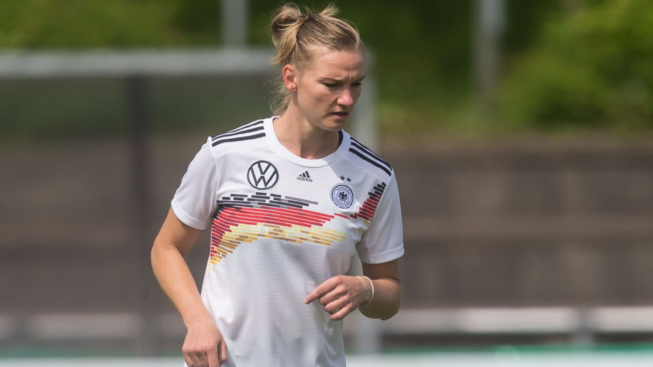 Alexandra Popp and Germany want to show the world they are still a powerhouse at this year's World Cup.