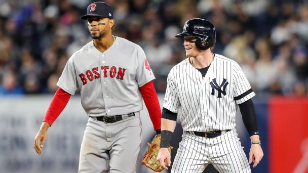 295bf95a4 Unlikely heroes, injuries and a World Series hangover: What you need to  know about Red Sox-Yankees