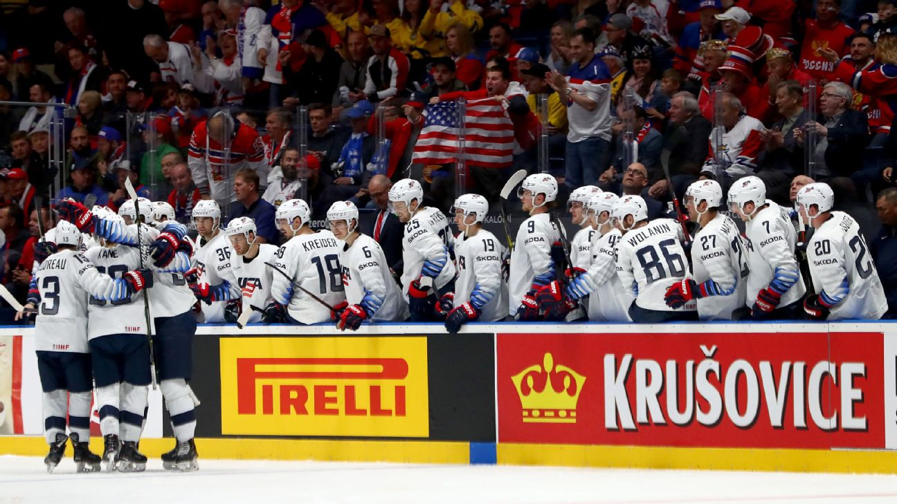 Welcome to a golden age of American hockey talent