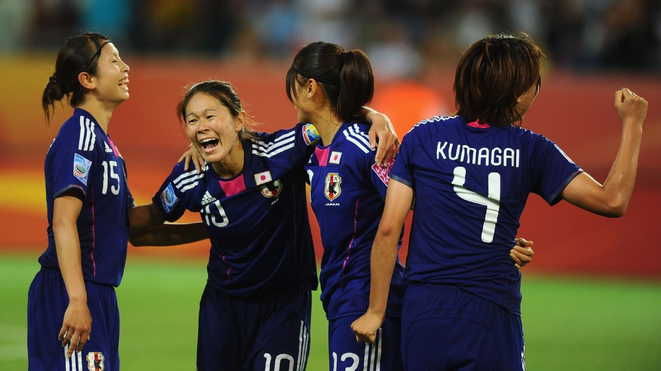 Japan has a strong history in the Women's World Cup, but this is an inexperienced team going up against some big-time competition.