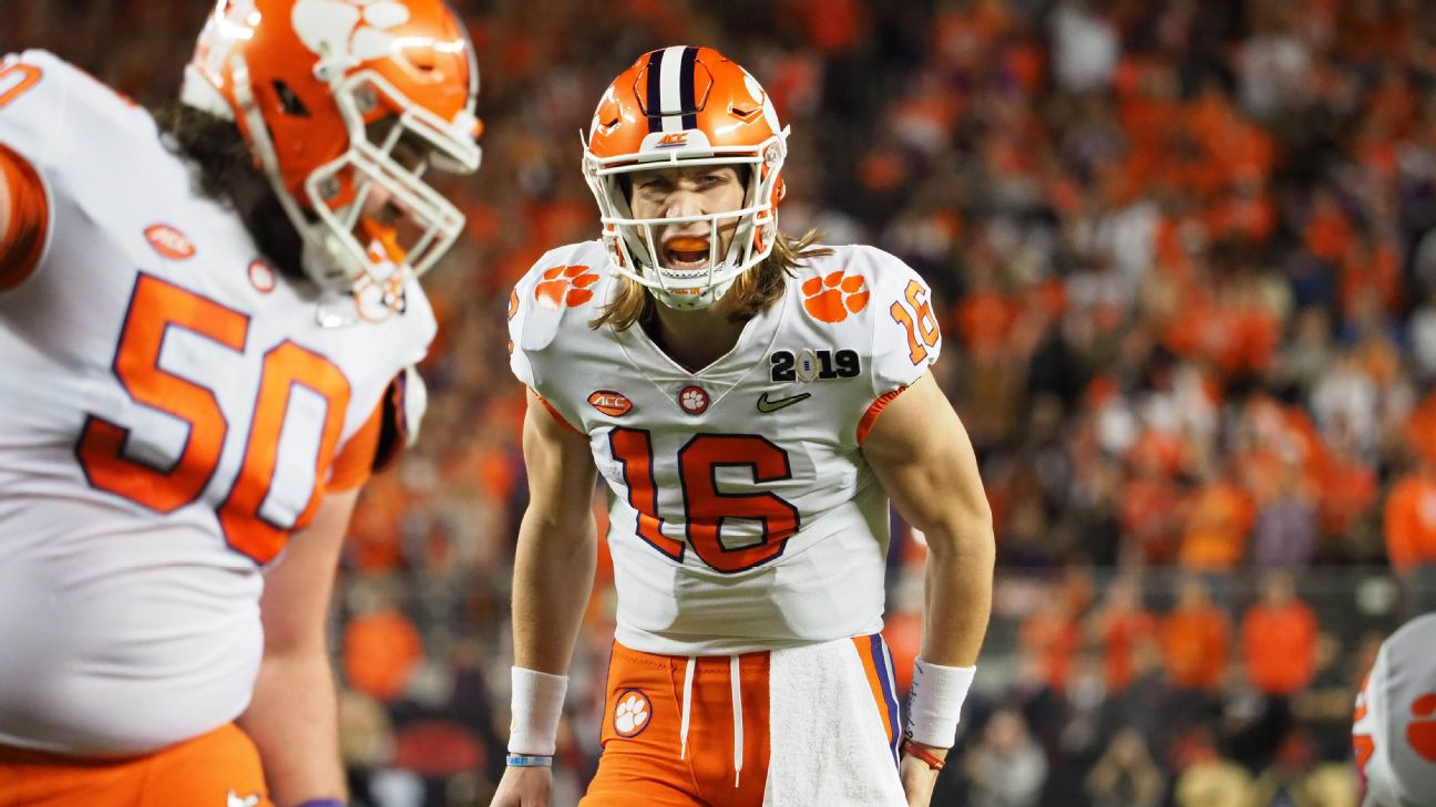 4d3da731 Trevor Lawrence might be the most NFL-ready sophomore ever ... so ...