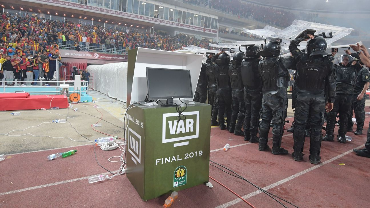 The VAR system at the CAF Champions League final malfunctioned on the night, leading to the abandonment of the game when Wydad refused to play on.