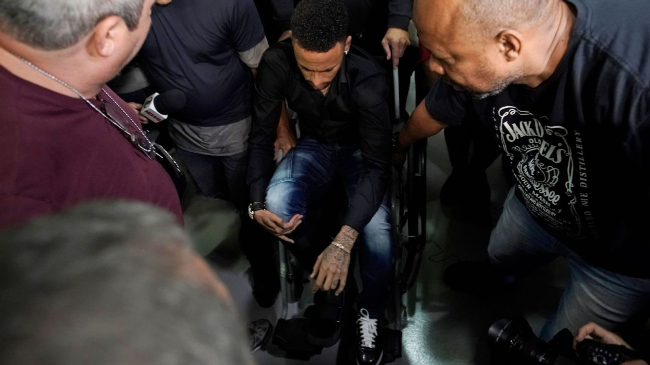 Neymar speaking to police about video release 3