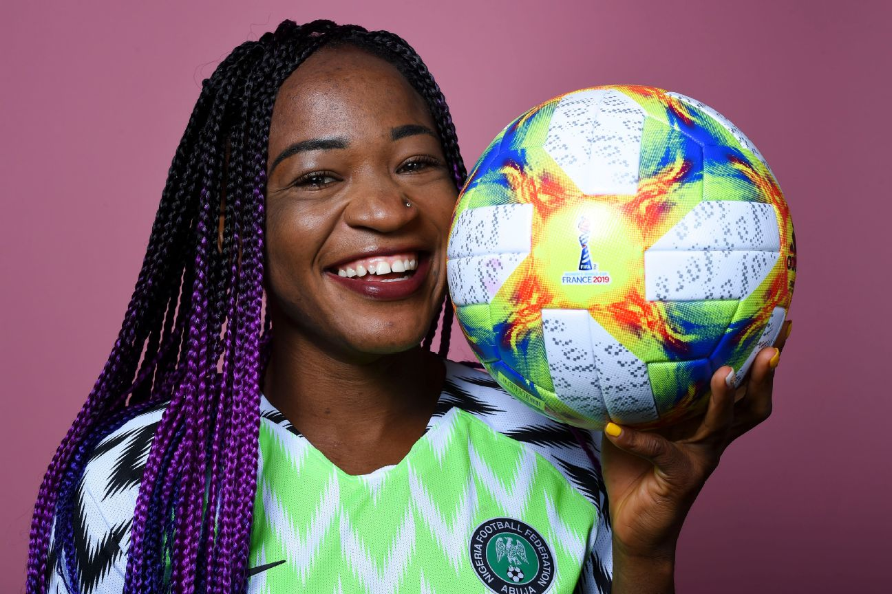 Francisca Ordega, one of Nigeria's veterans, will be playing in her third Women's World Cup, and promises an improved Super Falcons side.