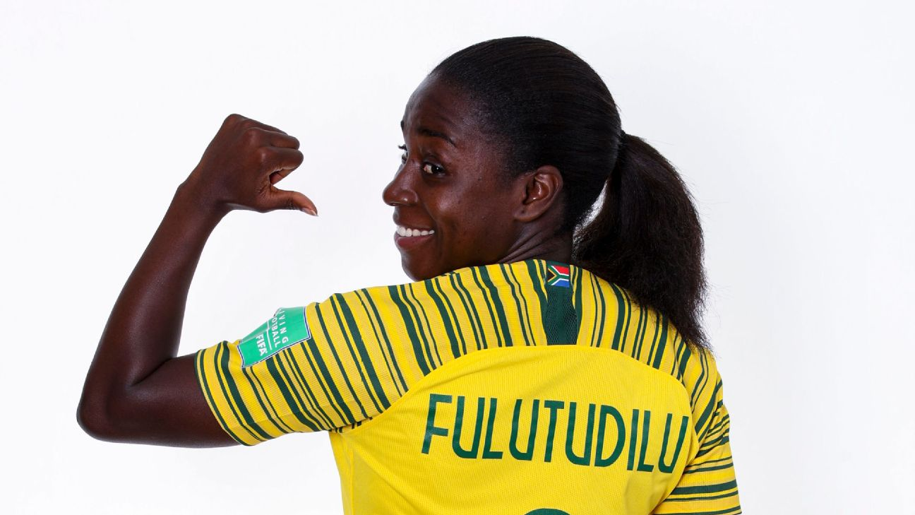 Ode Fulutudilu has fewer caps for South Africa than many would have expected, given her time in European leagues, but she's ready to add a few more at the Women's World Cup.