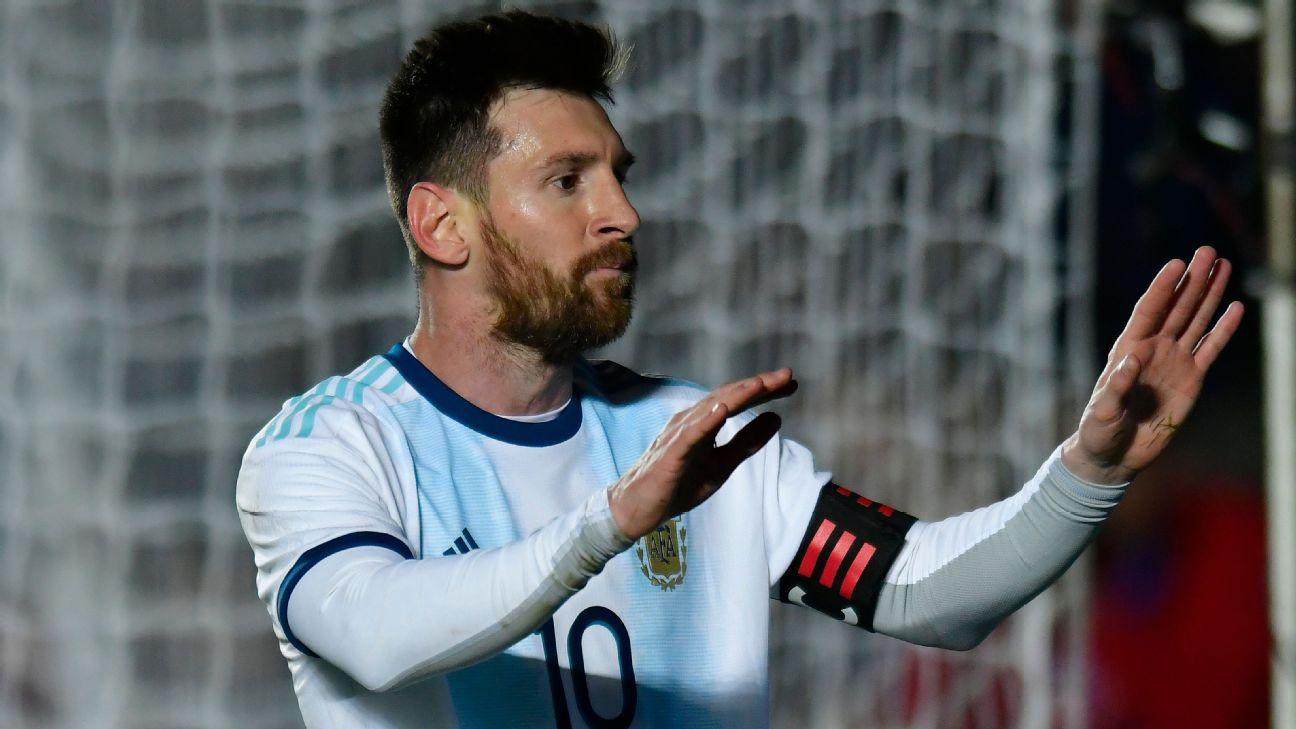 Lionel Messi celeb vs Nicaragua