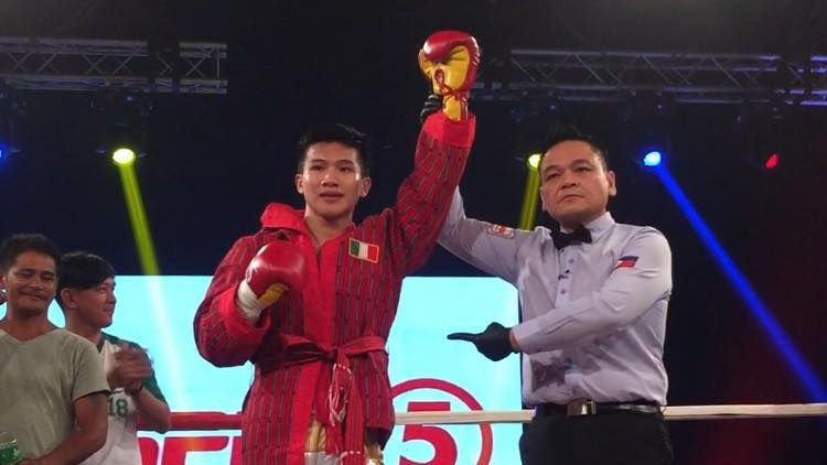 Martin delivers knockout victory against Thai opponent