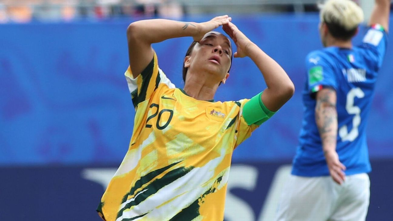 After losing their World Cup opener in stunning fashion to Italy, star forward Sam Kerr and the Matildas will need to rebound against Brazil.