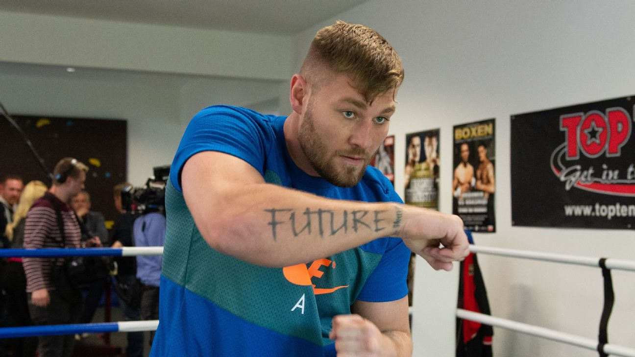 Whos Tom Schwarz Another Heavyweight Looking For A Big Upset