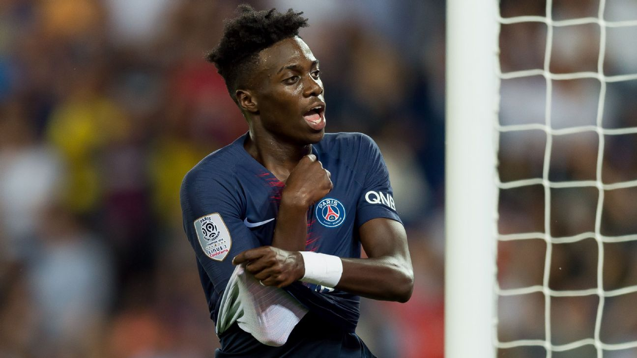 Timothy Weah, Paris St. Germain