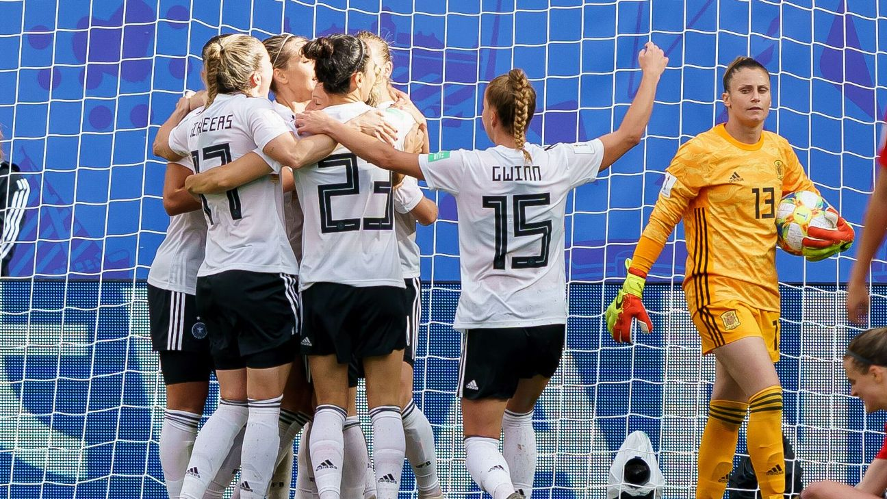 Sara Daebritz's 11th career international goal gave Germany another 1-0 win in this year's World Cup.