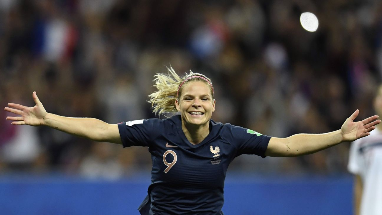 France beat Norway 2-1 after forward Eugenie Le Sommer scored the winning goal on a penalty kick in the 72nd minute on a controversial VAR call.