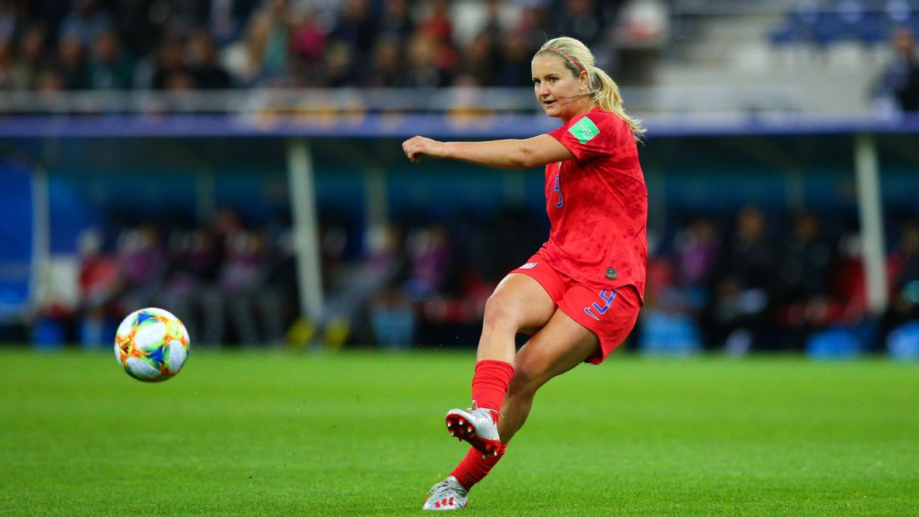 Lindsey Horan passed up a scholarship at the University of North Carolina to play professional soccer.