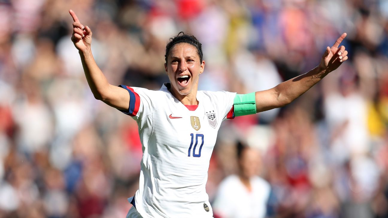 Carli Lloyd was inserted into the starting lineup and promptly scored a pair of goals.