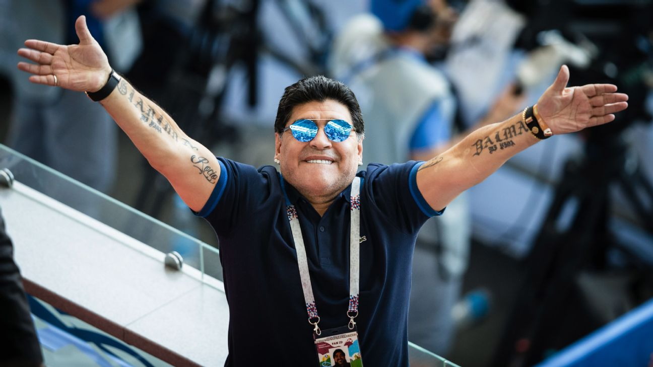 Maradona close to managerial return in Argentina 3