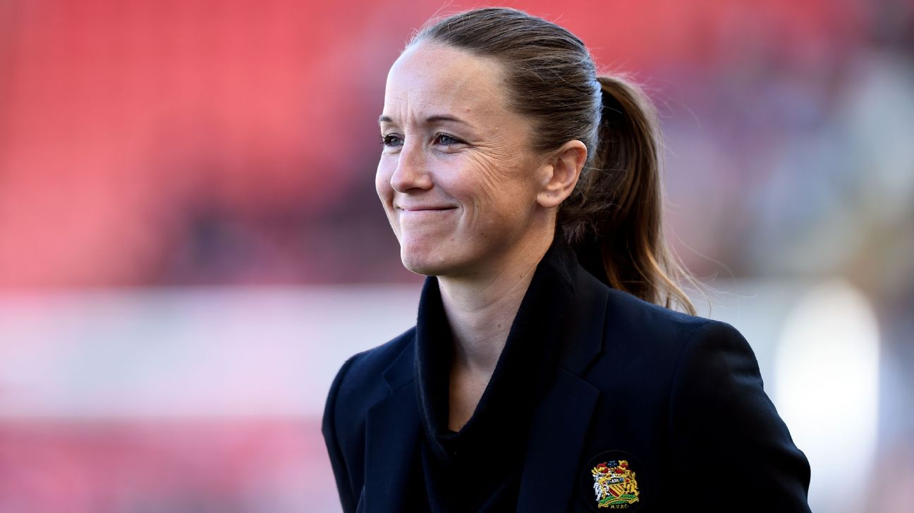 Manchester United manager Casey Stoney helped earn her side promotion to the Women's Super League in its inaugural season.